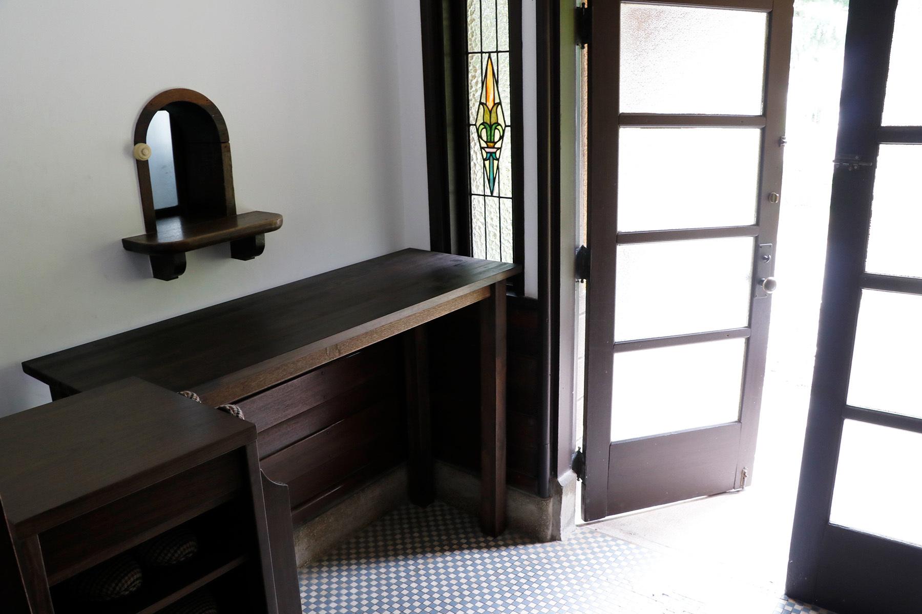 方斎庵(ほうさいあん)/指定文化財外観 玄関
