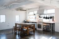 studio rue scipion  (スタジオ リュシピオン):間仕切りのない空間