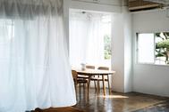 studio rue scipion  (スタジオ リュシピオン):ウッドフロアとソファー