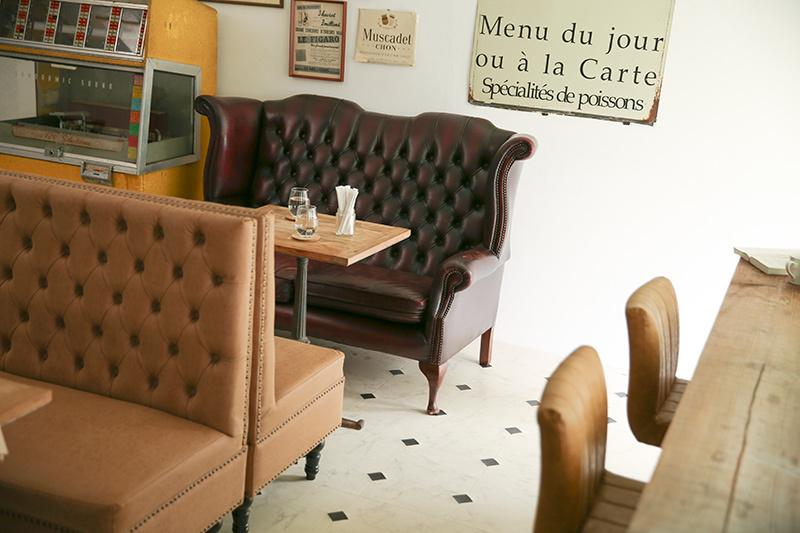 Atelier Pom 目黒中町 (アトリエ ポム)1階/コンクリート床とシャービックグ