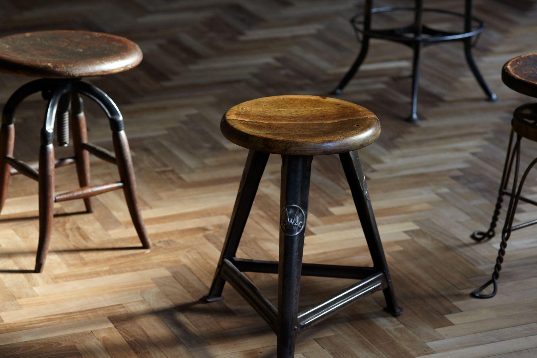Perfectly-Blank (パーフェクトリーブランク)本物のアンティークの椅子