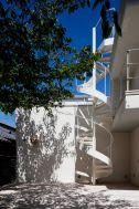 Seaside Hayama / 個人宅:螺旋階段