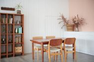 STUDIO FOGLIA 2st (スタジオ フォグリア 2st):明るいグレーの塗り壁