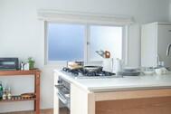 STUDIO RODAN(スタジオロダン) 2~3F:2F 黄色と白の柔らかいカーテン