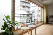 STUDIO RODAN(スタジオロダン) 2~3F:2F 南側ベランダは大きく開く窓