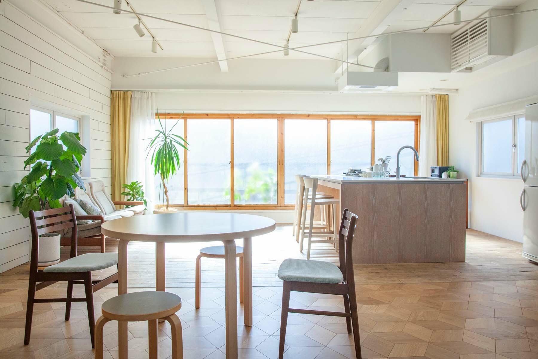 STUDIO RODAN(スタジオロダン) 2~3F2F 広々としたダイニングキッチン