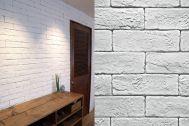 M RESIDENCE/個人宅 (エム レジデンス):無骨な風合いのブリックタイルの壁