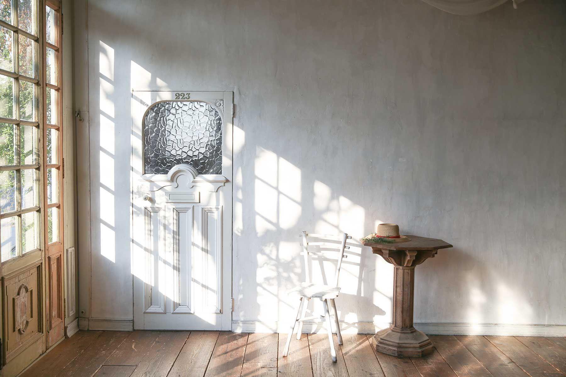 studio itto 目黒碑文谷1Fst (スタジオ イット)西陽の入る大きな窓からのサイド光