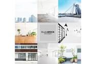 StudioBRICK 4F (スタジオブリック八丁堀4F):床はツヤなしマットグレー