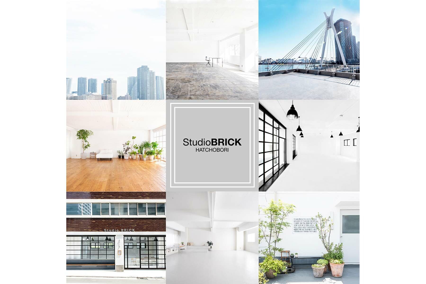 StudioBRICK 4F (スタジオブリック八丁堀4F)床はツヤなしマットグレー