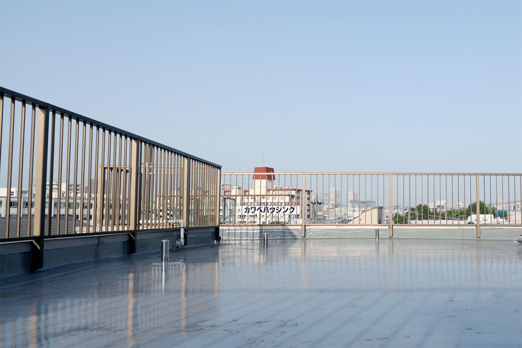HEFT WHITE APARTMENT (ヘフト ホワイトアパートメント)屋上(オプション)