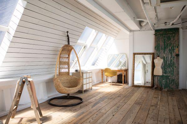STUDIO FLOD(スタジオフロード)3、4F4F/Natural 古材の床
