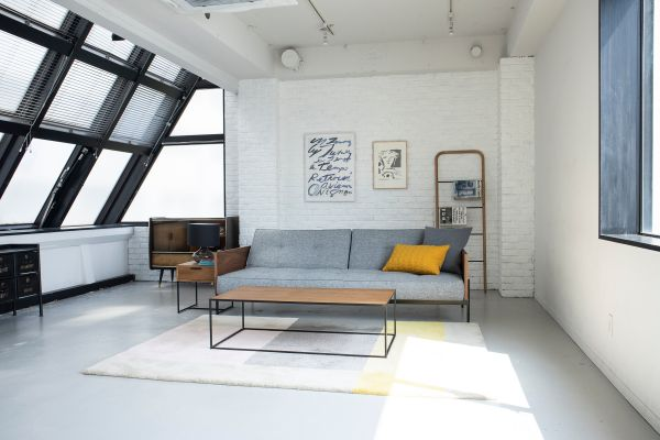 STUDIO FLOD(スタジオフロード)3、4F4F インダストリアルな家具