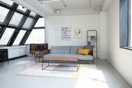 STUDIO FLOD(スタジオフロード)3、4F:4F/BLACK インダストリアルな家具