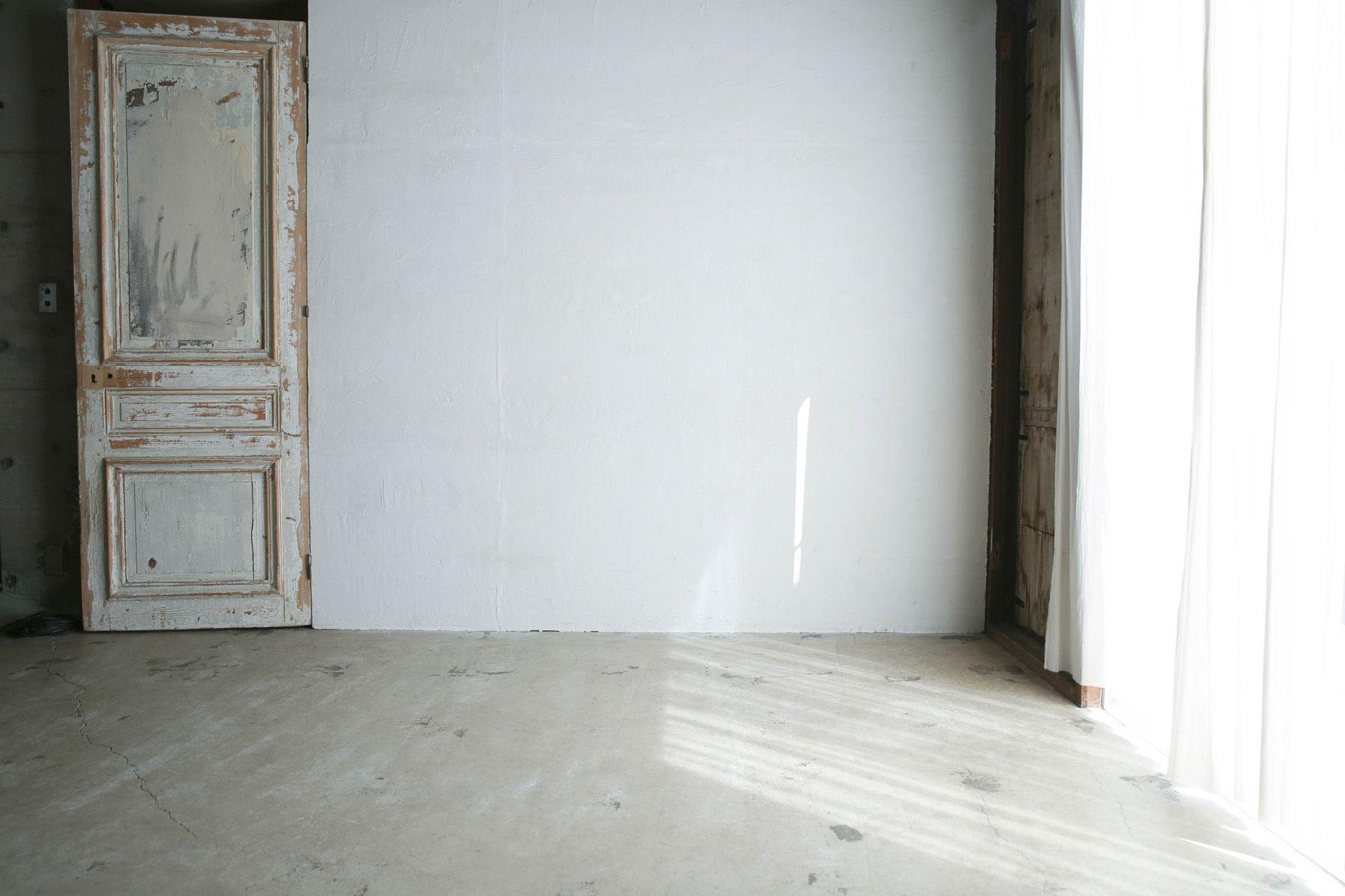 Atelier S 尾山台 (アトリエ エス)2F 南側_白壁