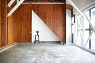 studio PEANUTS (スタジオ ピーナッツ):1F/可動式の壁・original絵画壁