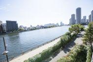 STUDIO FLOD 2F (スタジオフロード2F):近くには隅田川