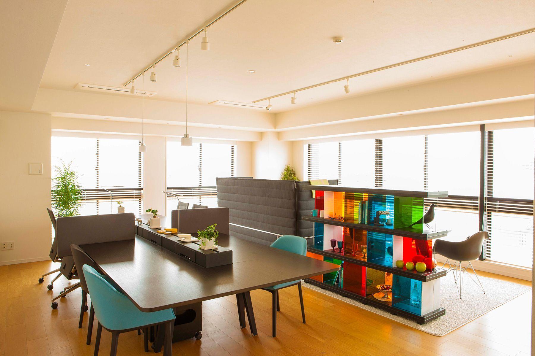 the SOHO studios. (イルニードスタジオマネージメントスペース)モデルルーム805号室