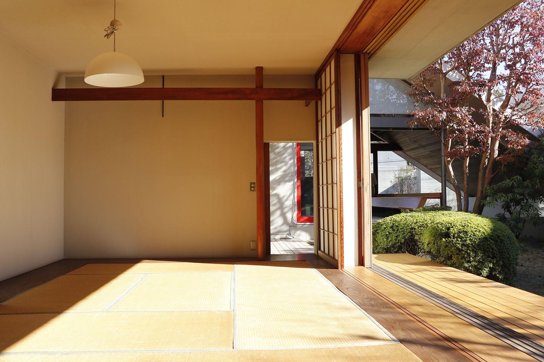 Arcstudio(アークスタジオ)和室 全景(入口側から)
