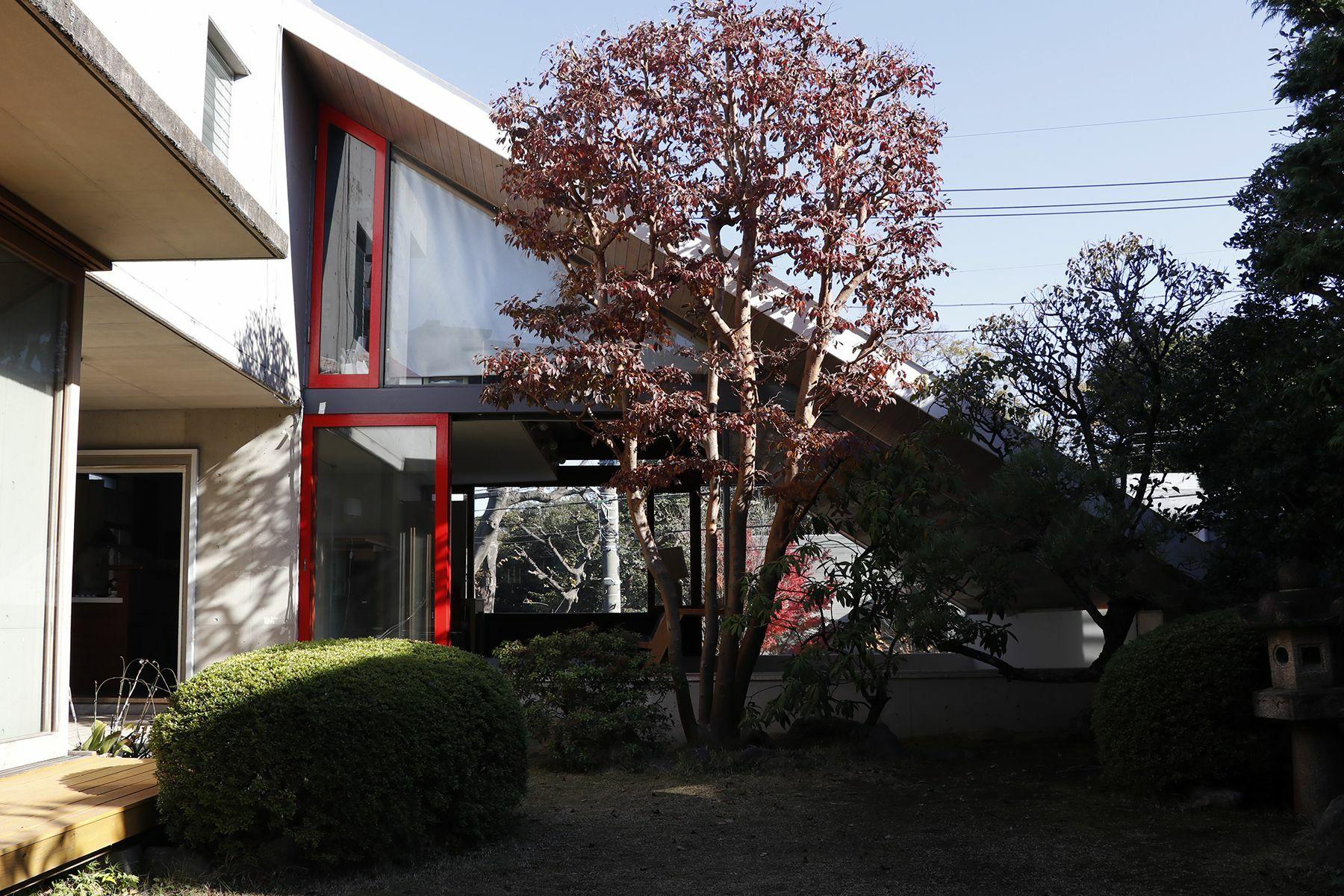 Arcstudio(アークスタジオ)和室 襖が閉まります