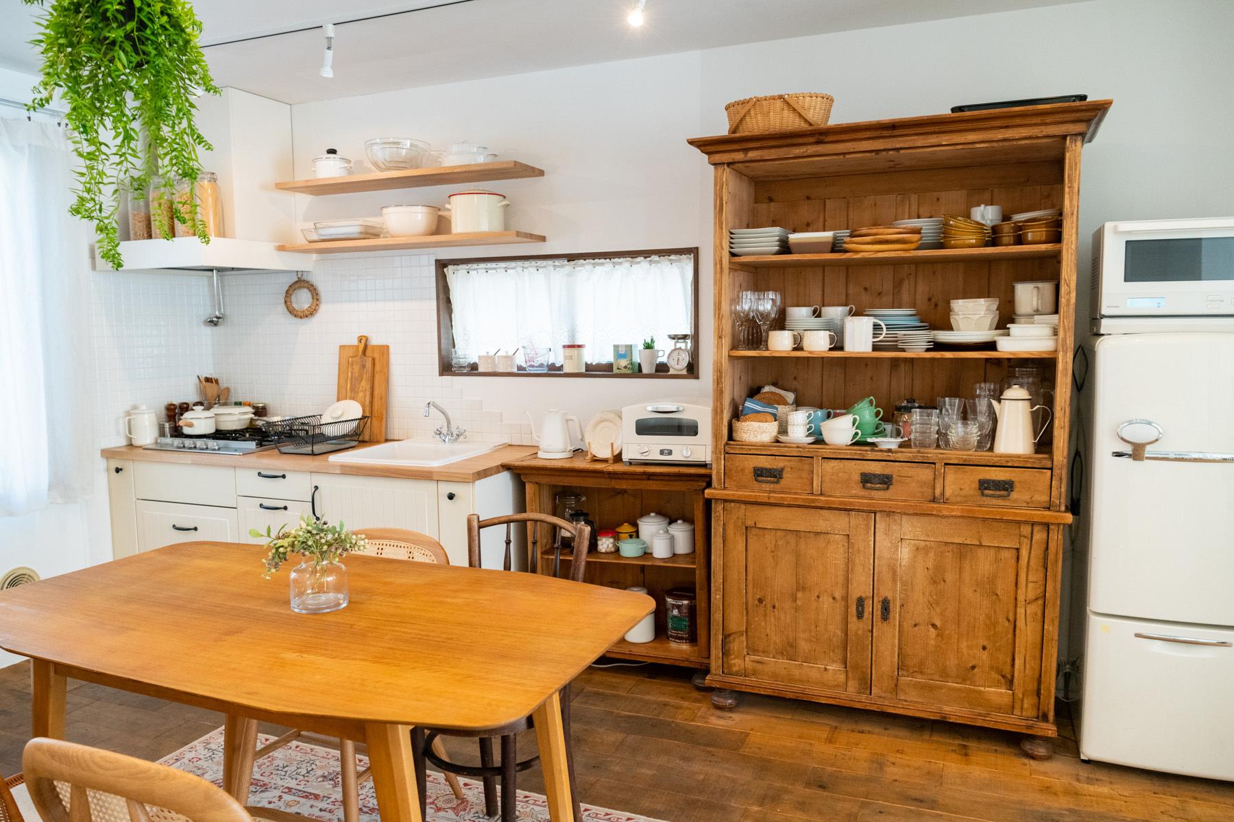 studio Licorne 下馬 (スタジオリコルネ下馬)2F キッチンで調理可能です