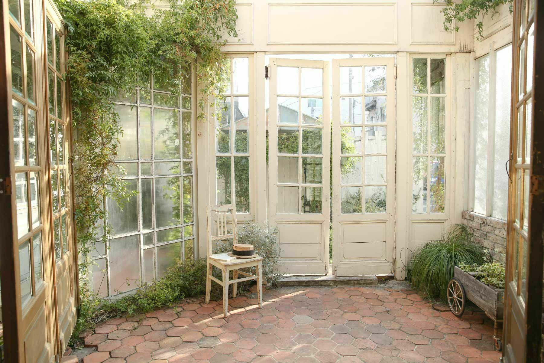 スタジオQue目黒碑文谷 (スタジオキュー)レンガタイルの庭