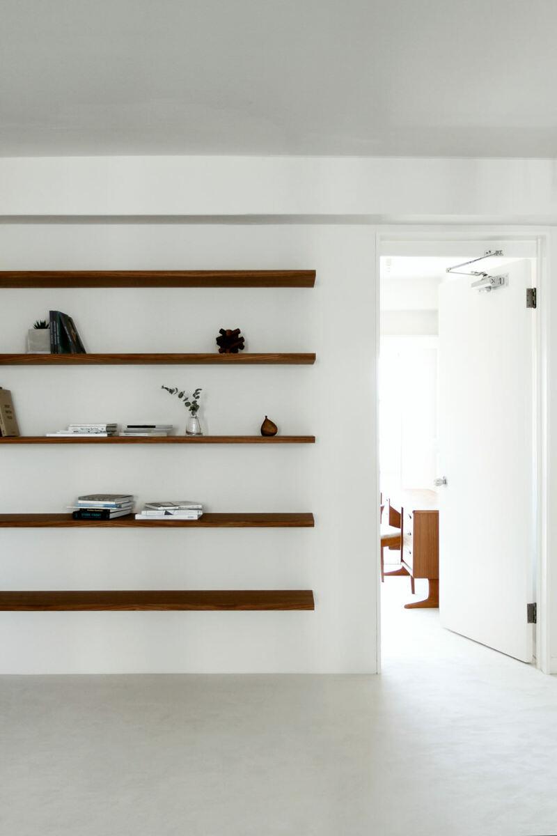 FEM(フェム)作り付けの本棚