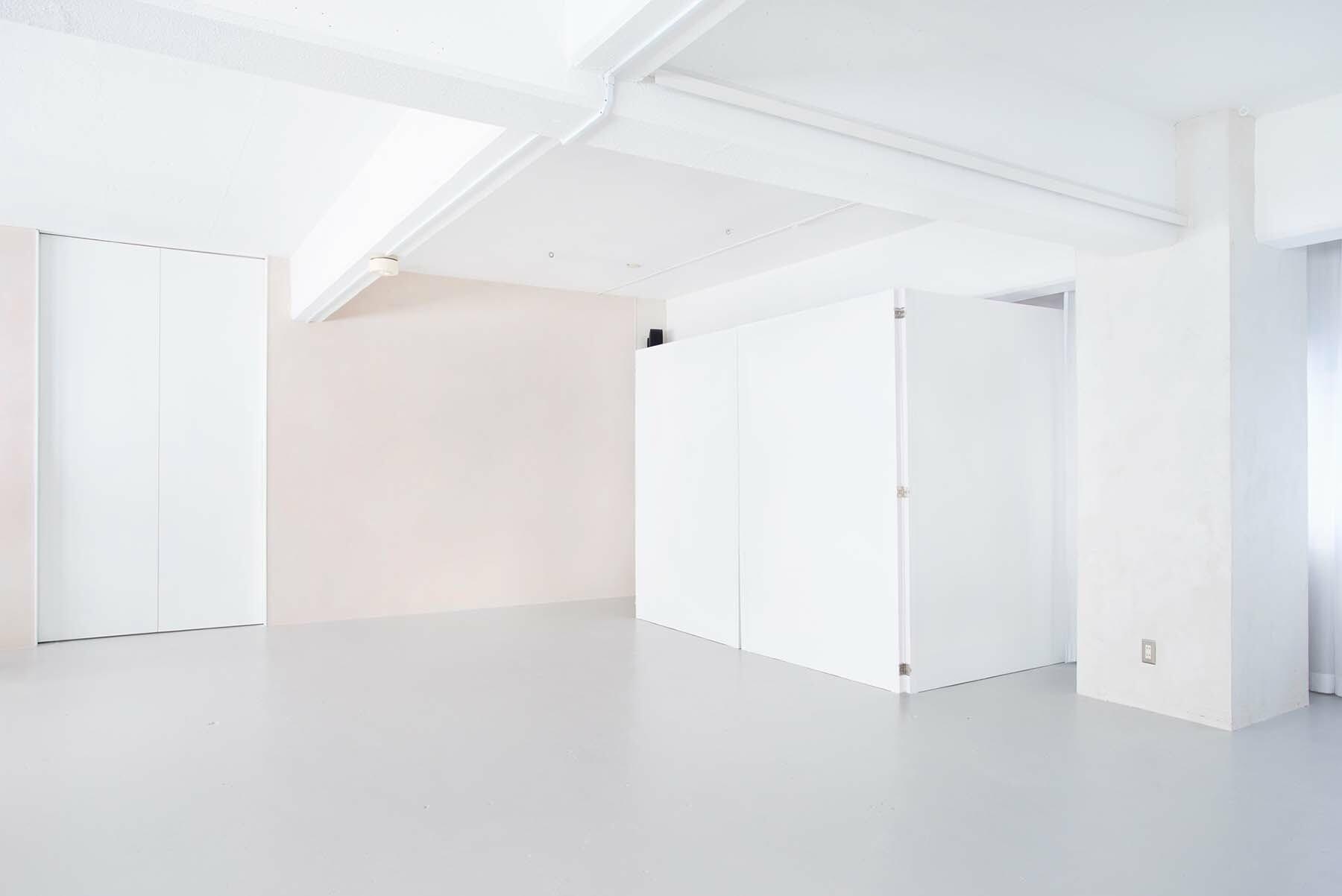 StudioBRICK 2F (スタジオブリック八丁堀2F)グレーレンガの腰壁
