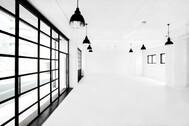 StudioBRICK 1F (スタジオブリック八丁堀1F):両サイドからの安定した光