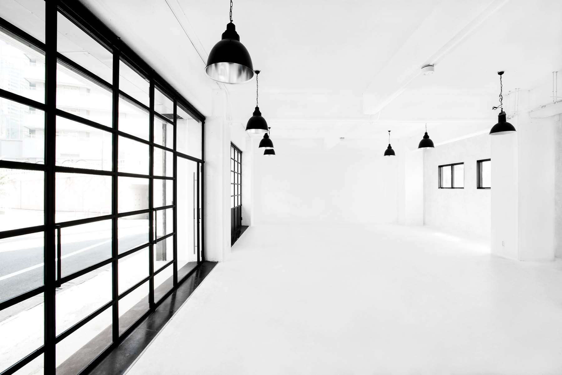 StudioBRICK 1F (スタジオブリック八丁堀1F)両サイドからの安定した光