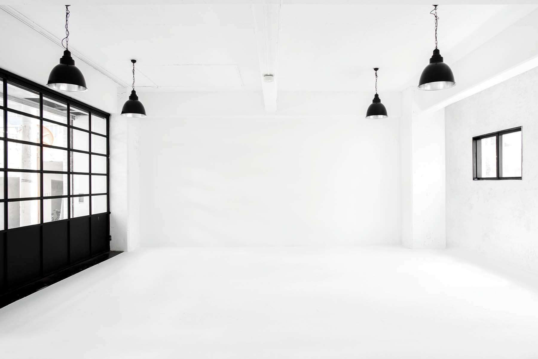 StudioBRICK 1F (スタジオブリック八丁堀1F)白の空間