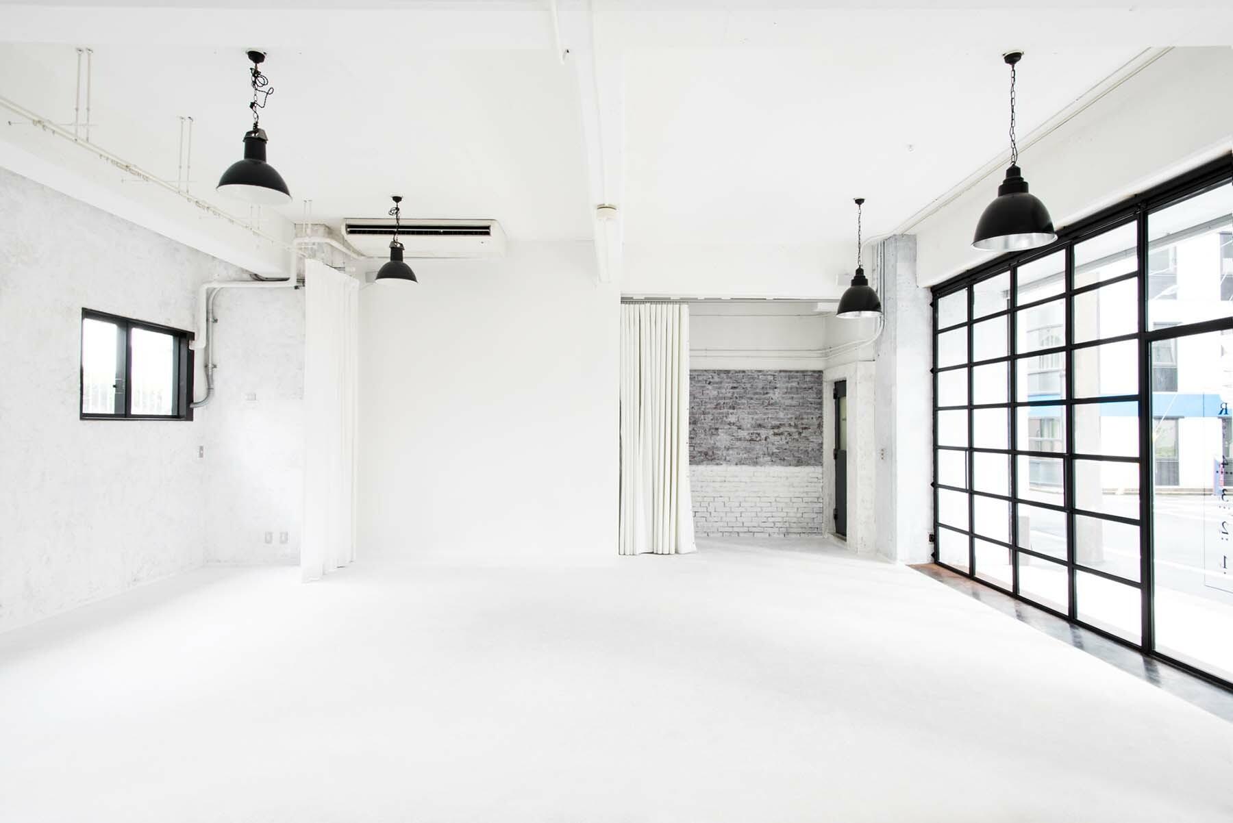 StudioBRICK 1F (スタジオブリック八丁堀1F)天井高は3.6m
