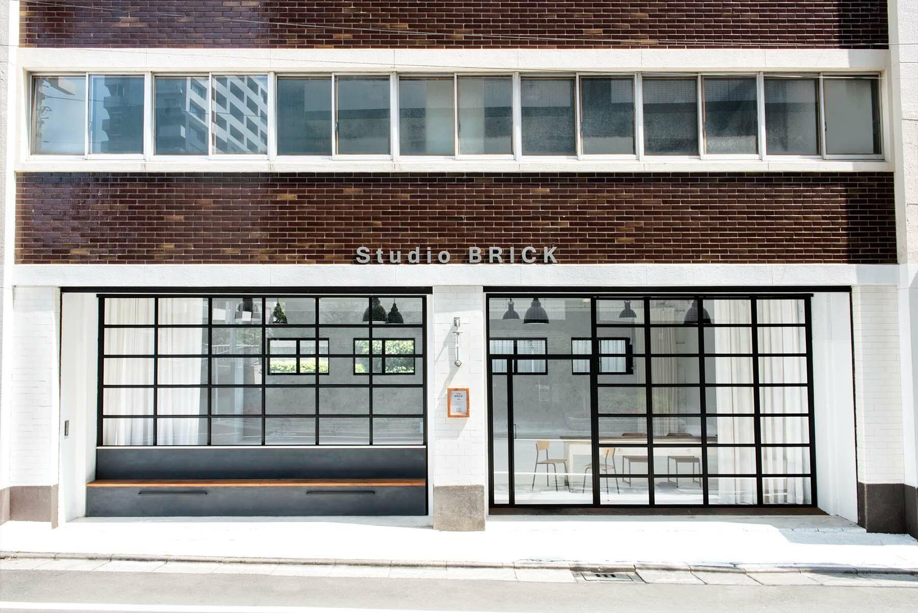 StudioBRICK 1F (スタジオブリック八丁堀1F)外観撮影もできます