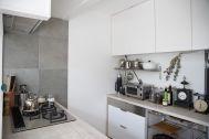 由比ケ浜の住宅/個人宅:1F キッチン