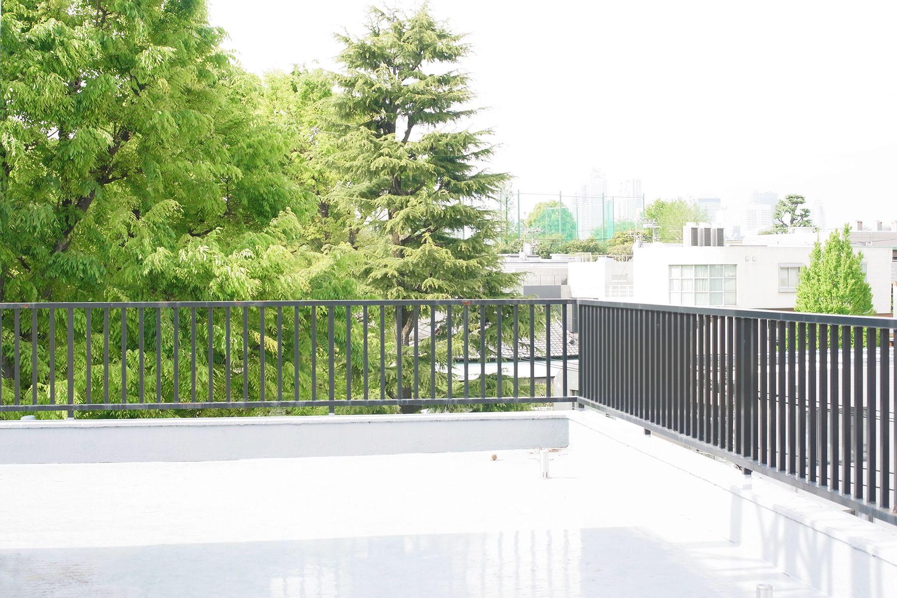 SHOTOHOUSE302 (ショウトウハウス302)屋上/公園の緑