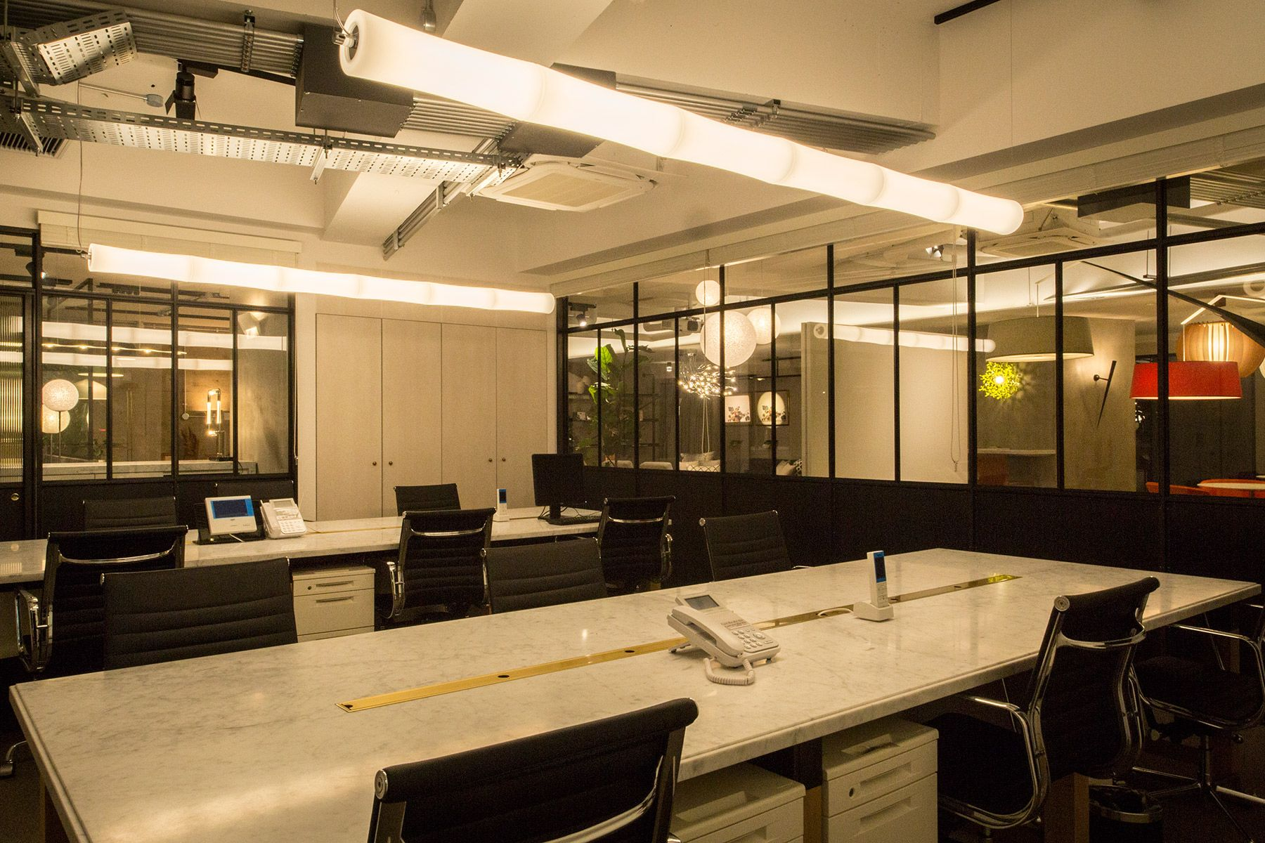 LCI JAPAN STUDIO/青葉台 照明器具ショールーム内観13 オフィス