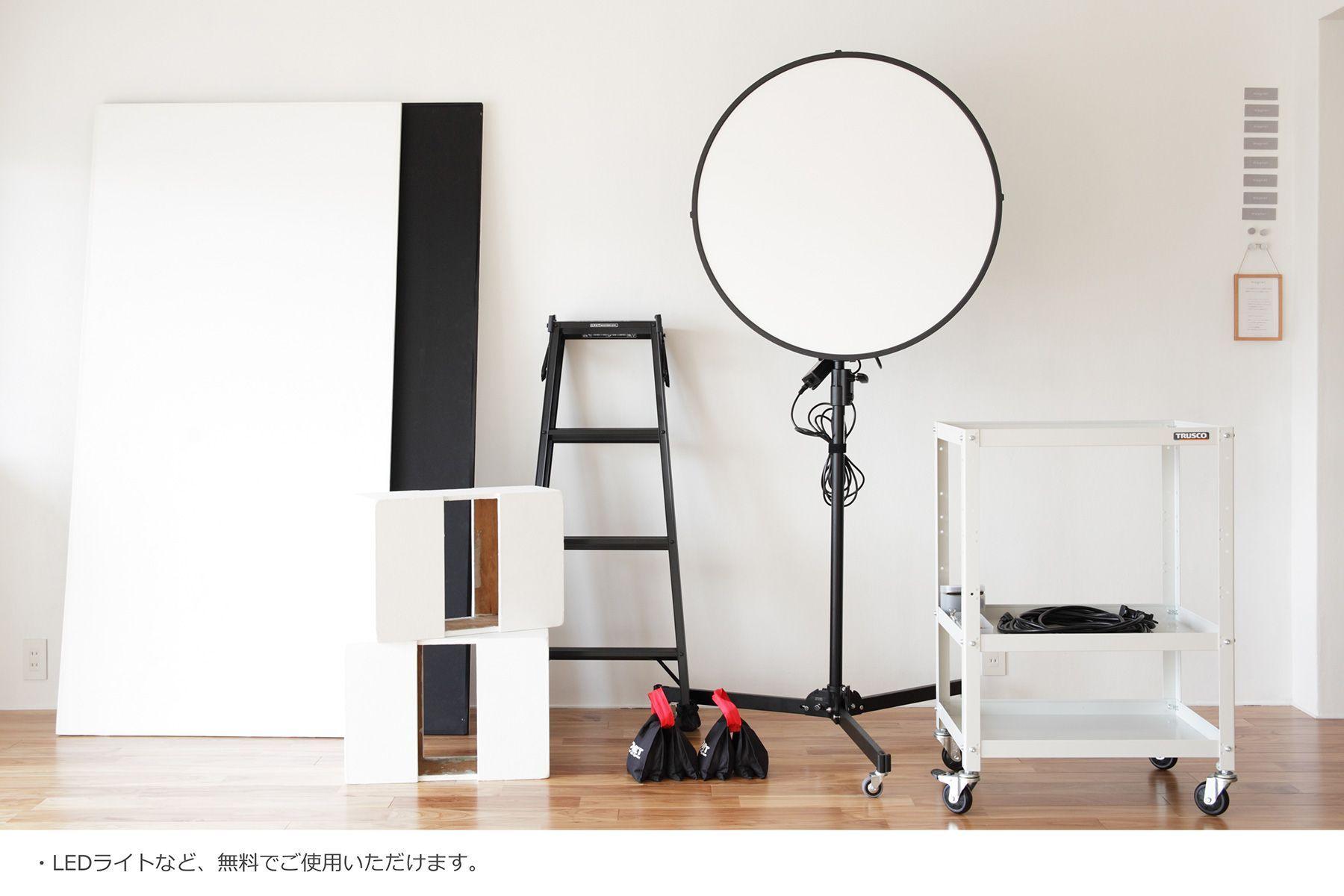 SANAIZAKA 503(サナイザカ 503)LEDライトなど無料貸出