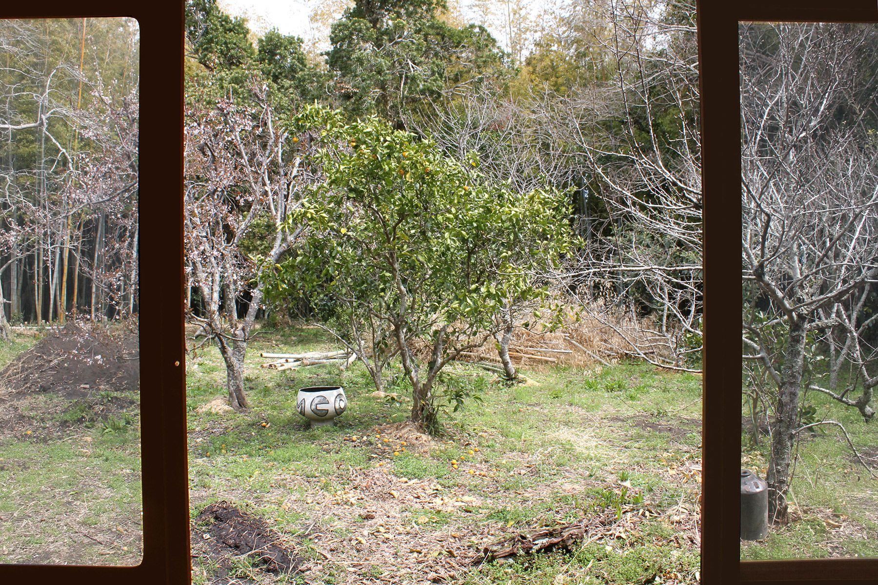 古民家スタジオ 火林荘(かりんそう)庭