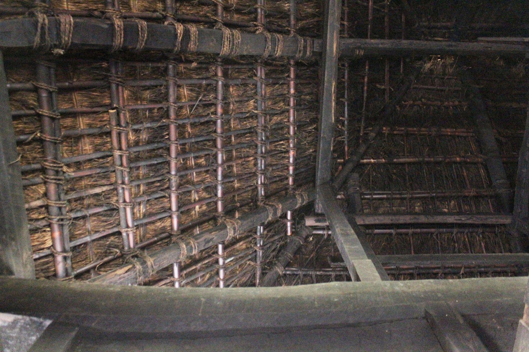 古民家スタジオ 火林荘(かりんそう)室内 天井