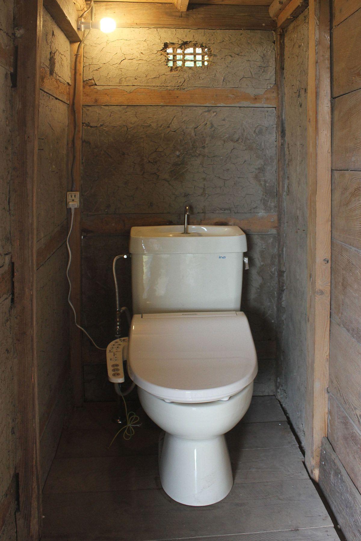古民家スタジオ 火林荘(かりんそう)トイレ