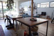 湘南台の家/個人宅:2Fからリビングを俯瞰撮影