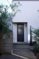湘南台の家/個人宅:1F_玄関 外観