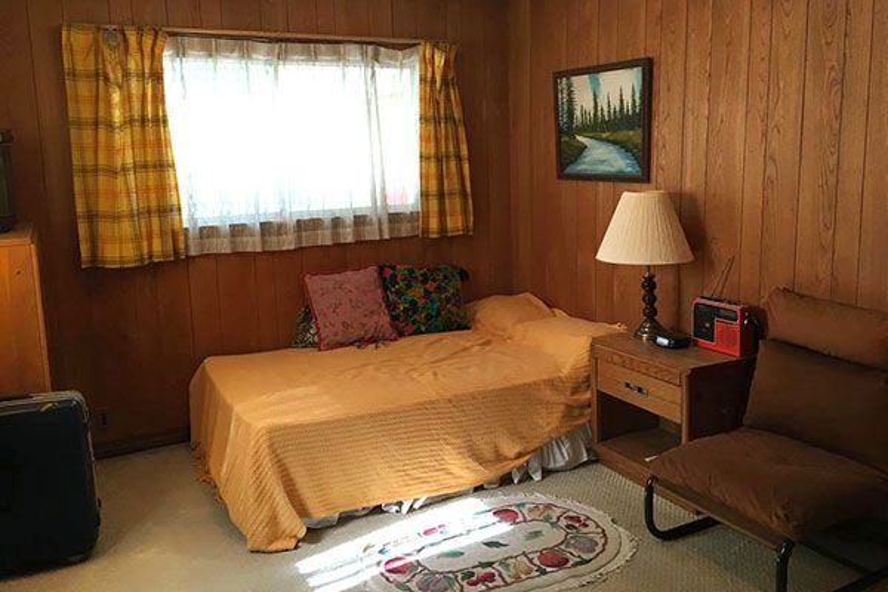 ボイル邸(米軍ハウス)1階ベッドルーム