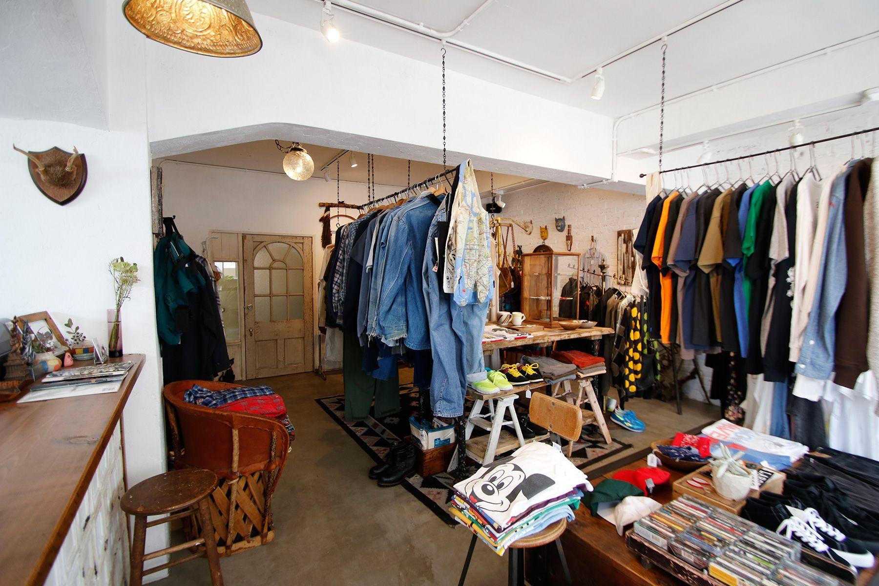 STRANGER/shop (ストレンジャー)店内