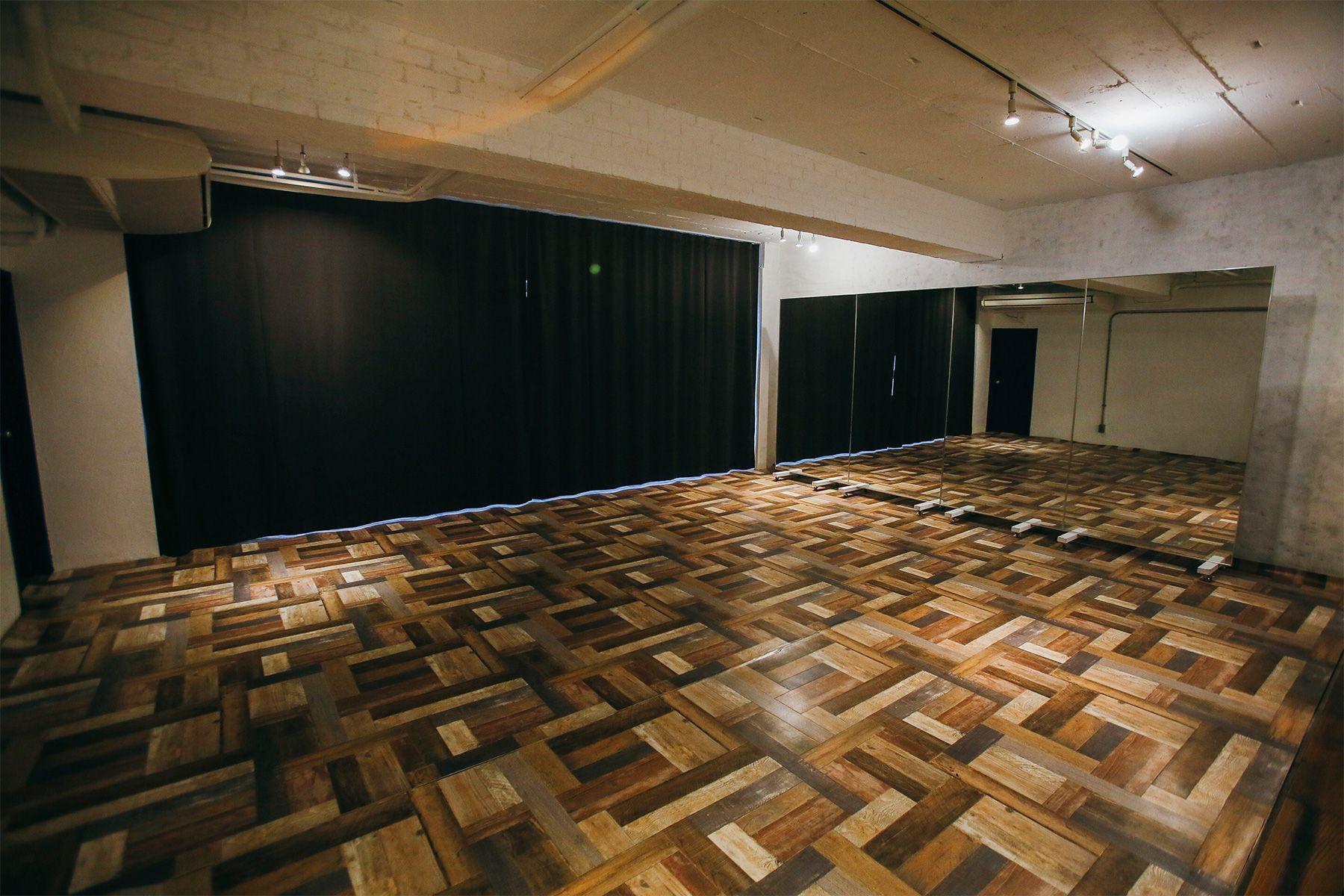 Studio 5th NAKAMEGURO (スタジオフィフス)ダンススタジオ仕様