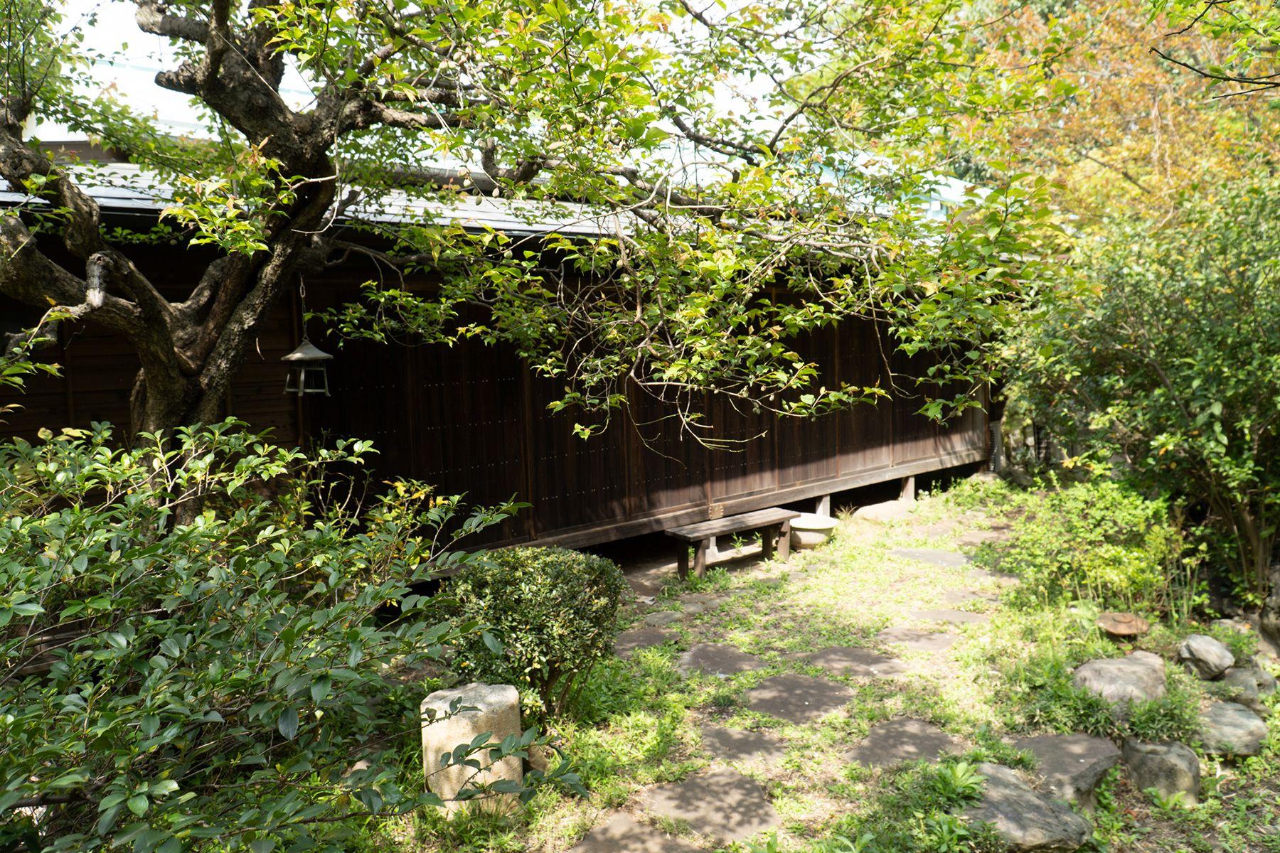 古民家 HUG(ハグ)庭の状態 2021.4.9 昼頃