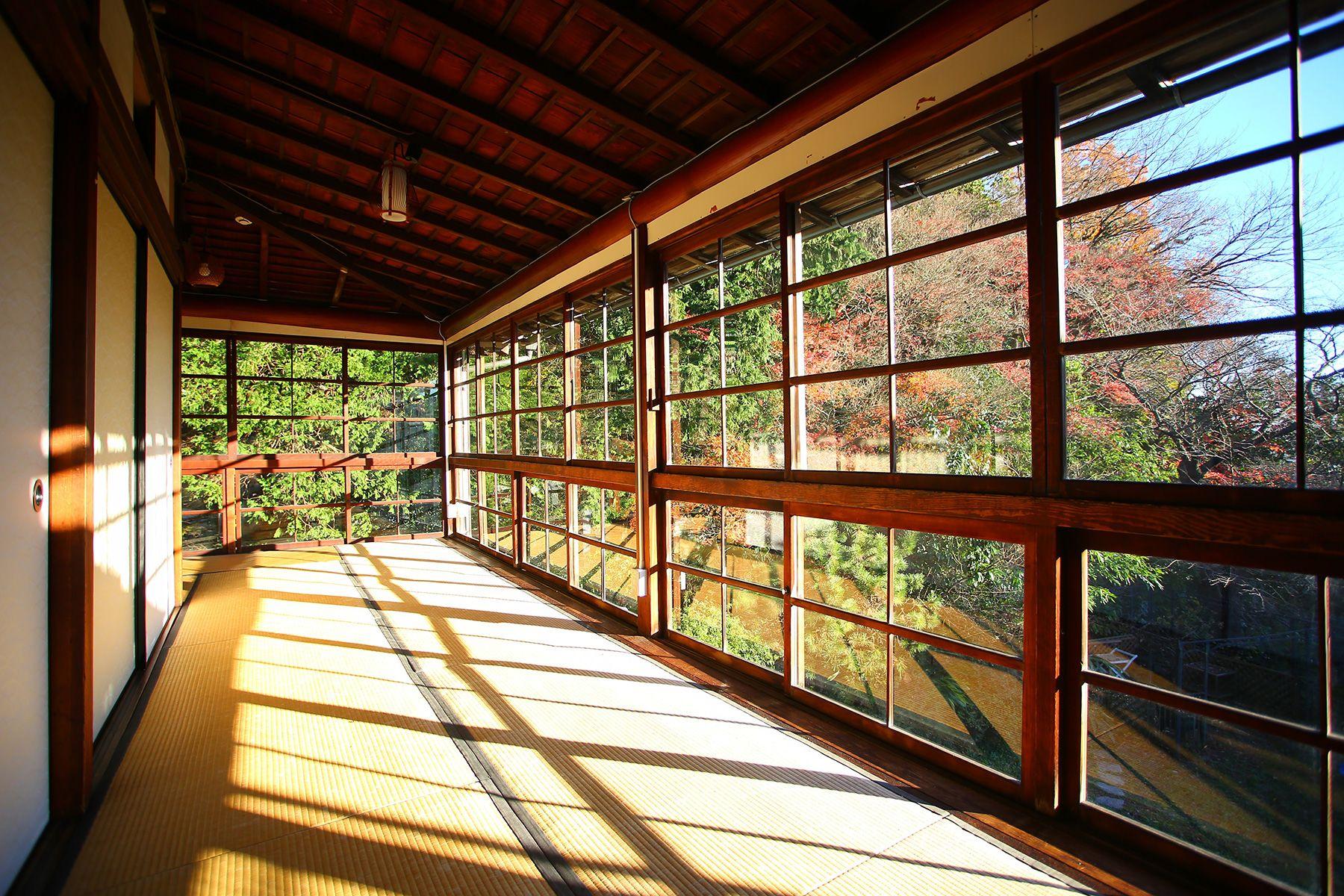 旅館 喜多屋 (キタヤ)大広間の広縁