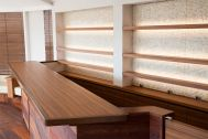 Studio TERRANOVA Cst 屋上バルコニー (スタジオテラノヴァ):ペントハウス内 バーカウンター