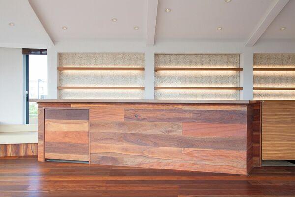 Studio TERRANOVA Cst 屋上バルコニー (スタジオテラノヴァ)ペントハウス内 モザイクタイル