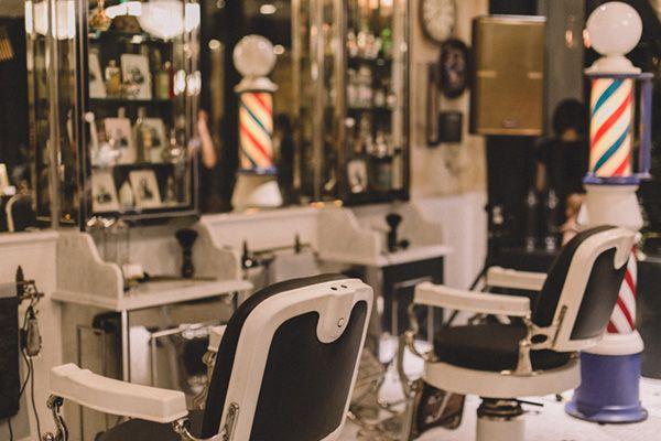 Barber LUDLOW BLUNT (ルドロウ ブラント)店内